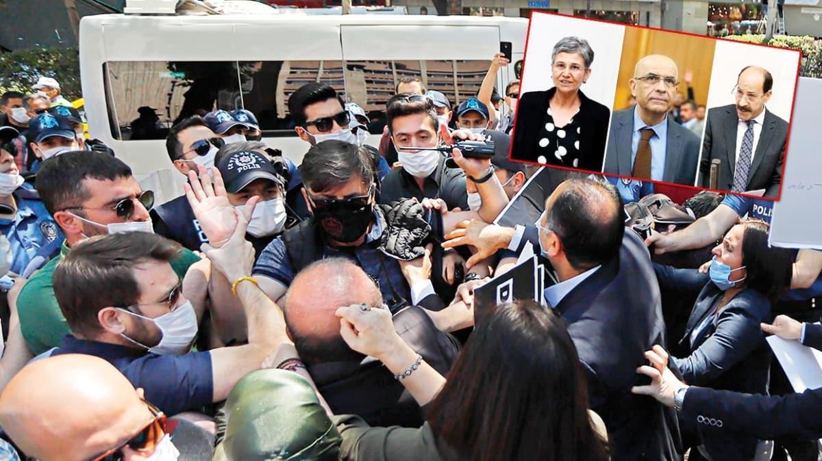 Ankara'da yalnız kaldılar! HDP'nin provokasyon girişimi boşa çıktı
