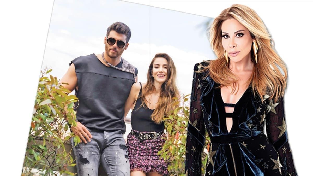 Şarkıcı Linet'in dillere destan evi Özge Gürel ile Can Yaman'lı Bay Yanlış dizisinin seti olacak