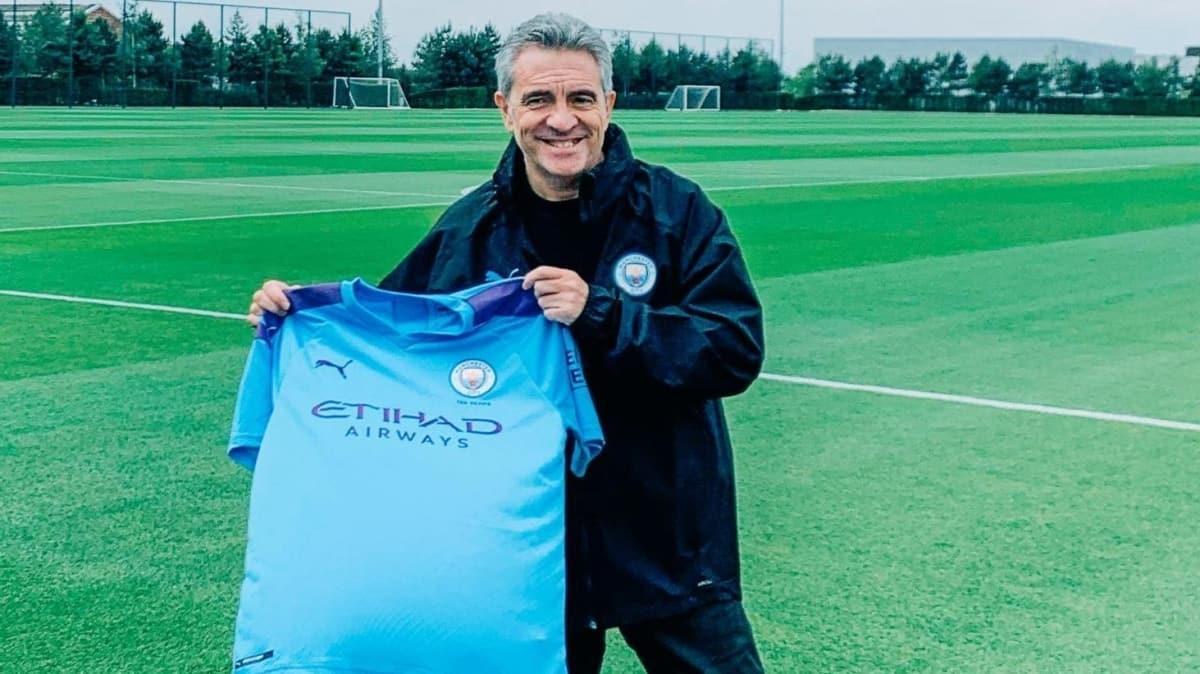 Manchester City'de Guardiola'nın yardımcısı Juan Manuel Lillo oldu