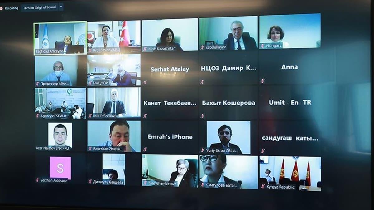 Türk Konseyi Sağlık Koordinasyon Komitesi toplandı