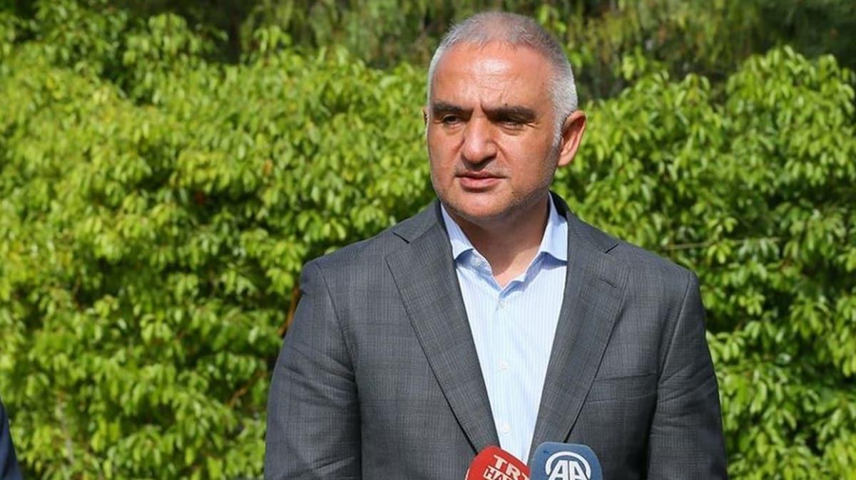 Kültür ve Turizm Bakanı Ersoy'dan turizmde yeni normale geçiş açıklaması