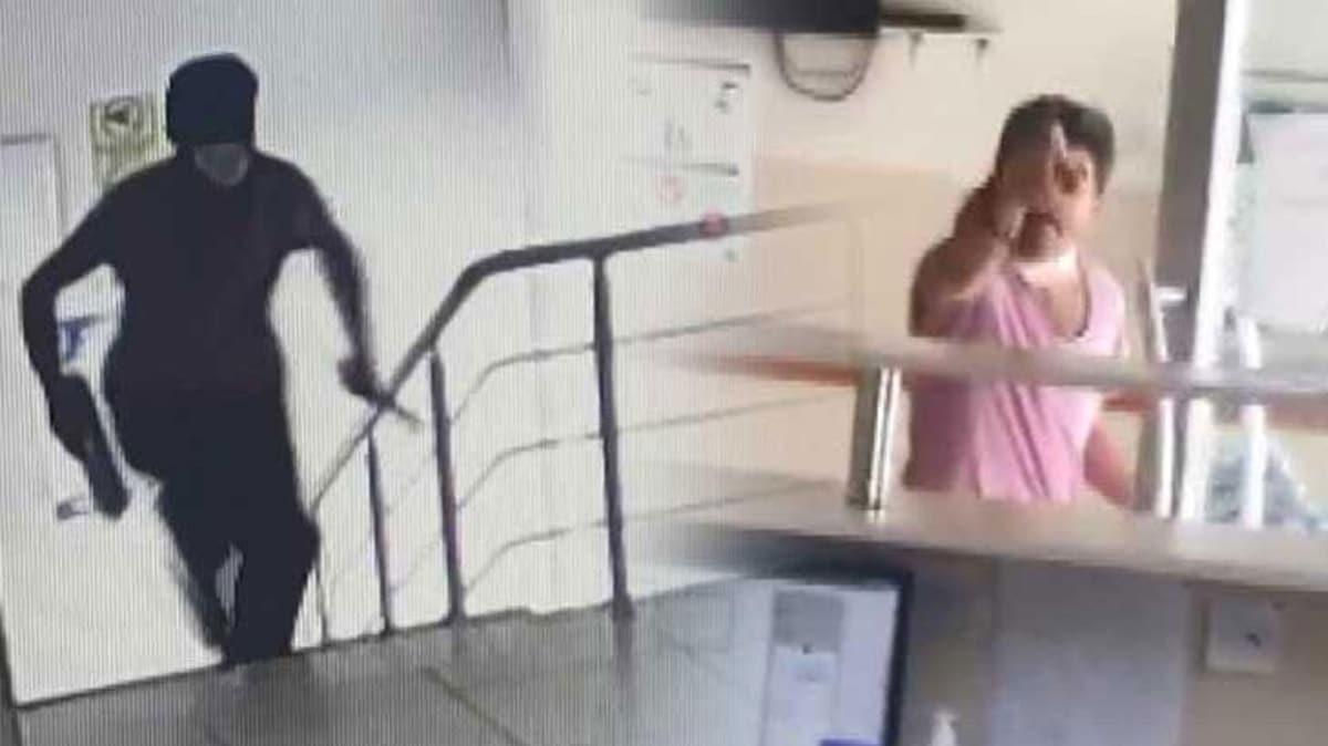 Esenyurt'ta doktorlara bıçaklı ve demir çubuklu saldırı kamerada