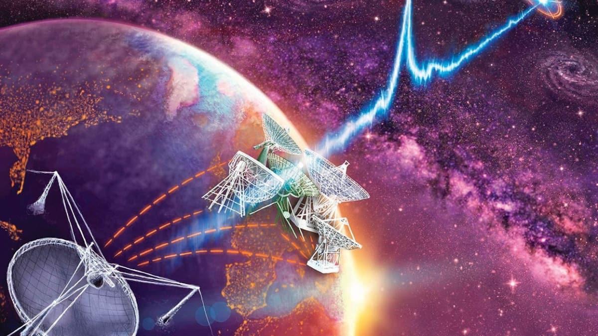 Uzaydan gelen sır ses dalgaları