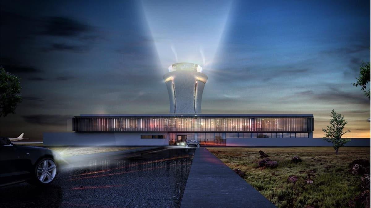 Dev projenin yüzde 68'i tamamlandı: Kulesi 'çay bardağı' figürü olacak