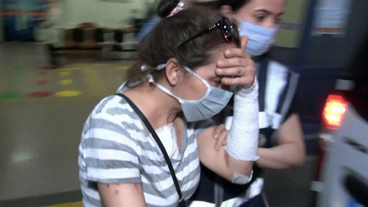 Eski sevgilisinin yüzüne kezzap atan kadın tutuklandı