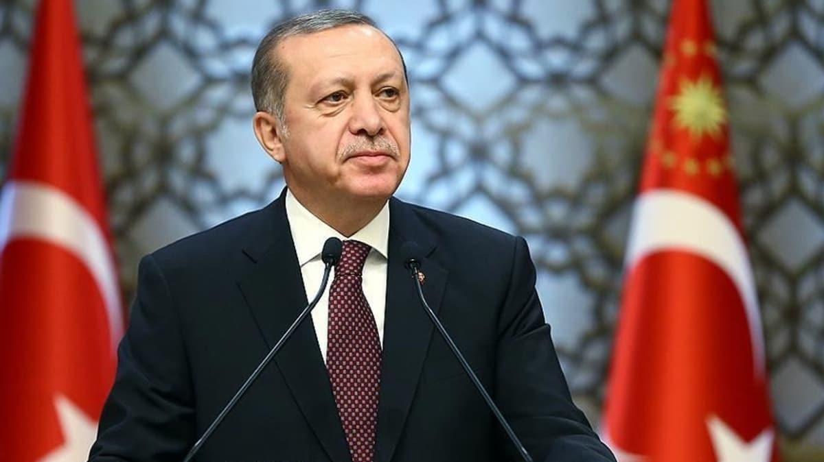 Başkan Erdoğan'dan millete hizmet yolunda 'Durmak yok' mesajı