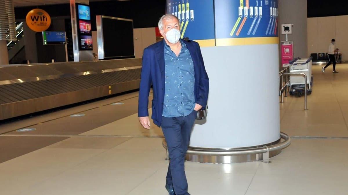 Zeljko Obradovic İstanbul'a döndü