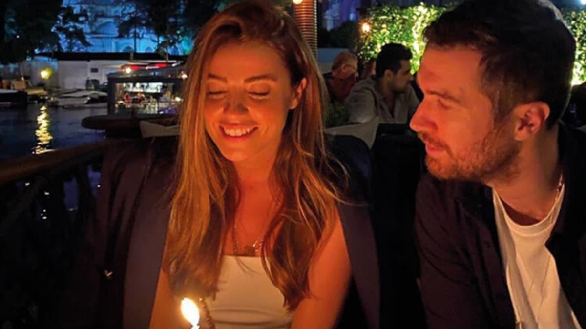 Oğulcan Engin ilk kez paylaştı! Sevgilisi Ezgi Eyüboğlu'na romantik kutlama