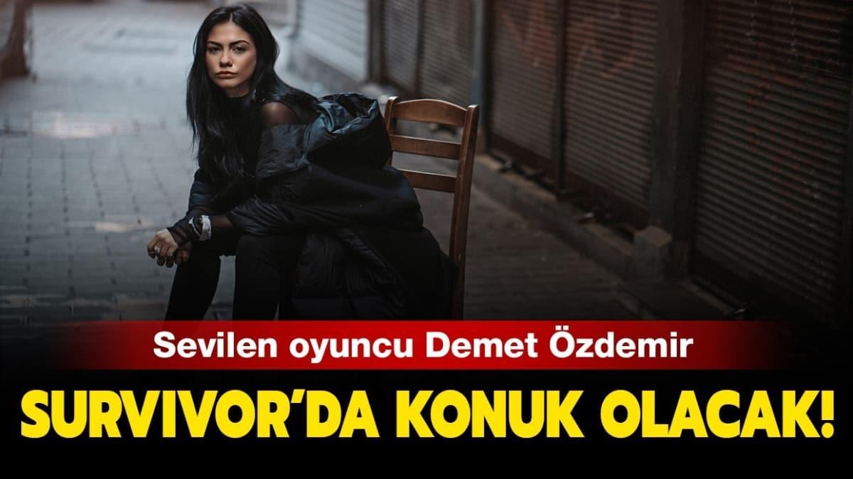 """Demet Özdemir kimdir"""" Survivor'da Cemal Can'la eşleşen Demet Özdemir kaç yaşında ve nereli"""" İşte oynadığı diziler!"""