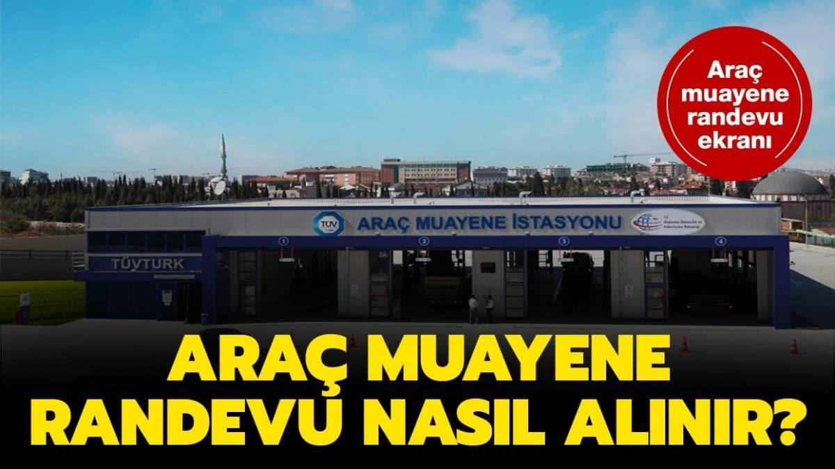 """Araç muayenene randevusu nasıl alınır"""" TÜVTÜRK araç muayene ücretleri 2020"""