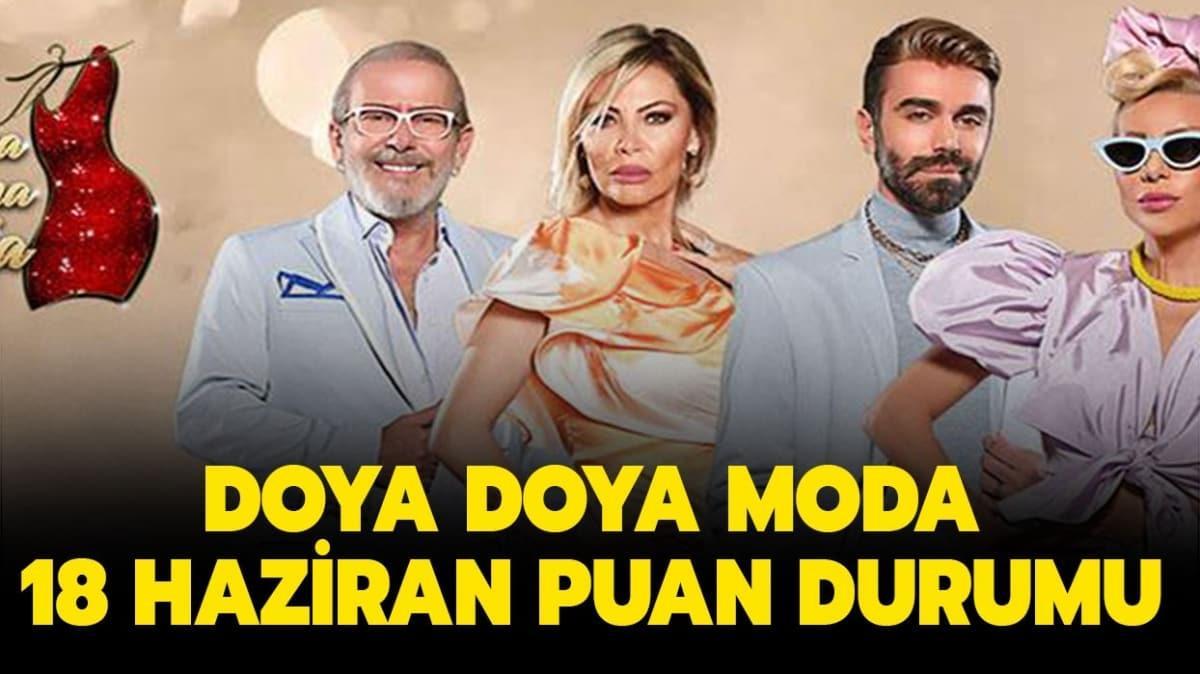 """Doya Doya Moda gün birincisi kim oldu"""" Doya Doya Moda 18 Haziran 2020 puan durumu sizlerle!"""