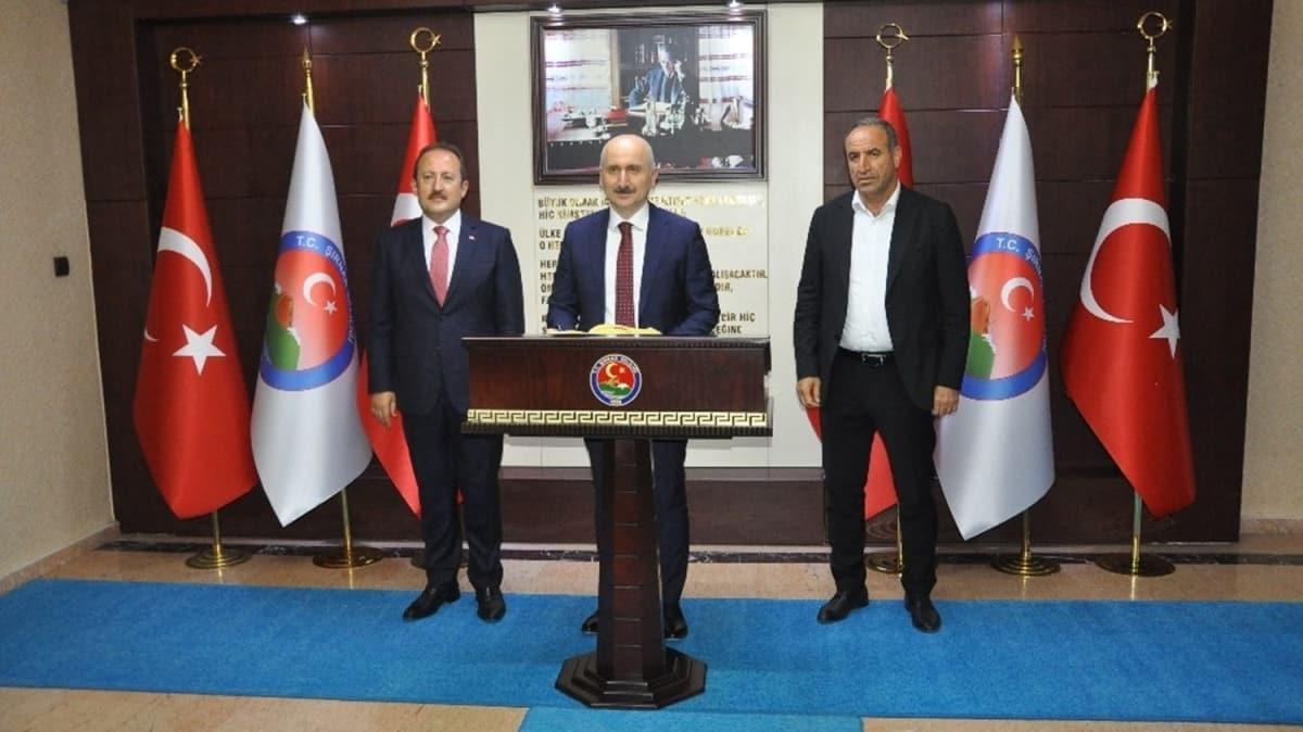 Bakan Karaismailoğlu, Şırnak'ta STK temsilcileriyle görüştü