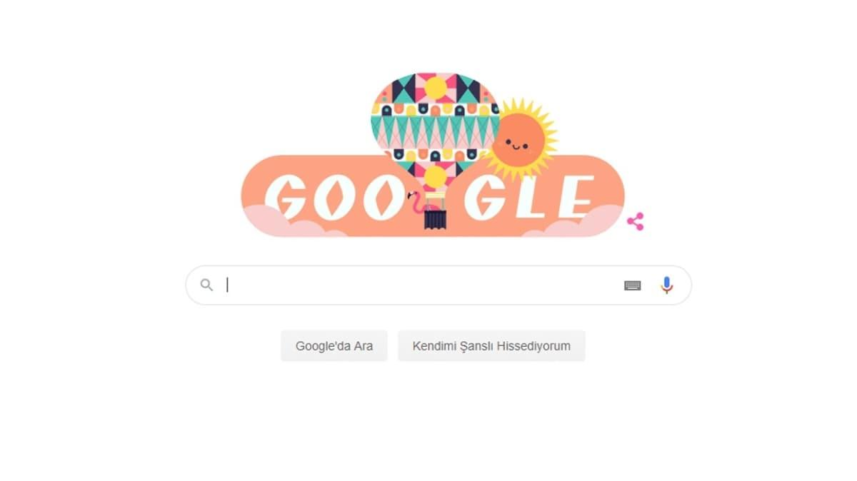 """Yaz Sezonu Gün Dönümü Google'da Doodle oldu! 21 Haziran Yaz Gün Dönümü nedir"""""""