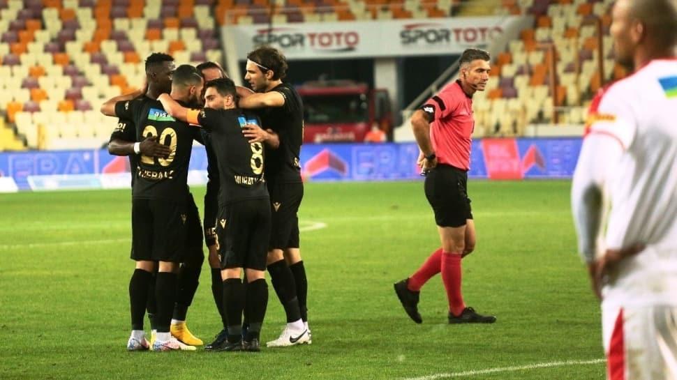 Yeni Malatyaspor ligde 189 gün sonra kazandı