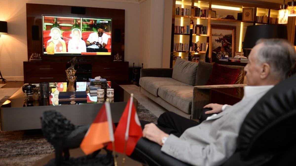 Başkan Mustafa Cengiz, Galatasaray'ı yalnız bırakmadı