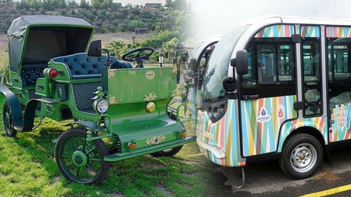 İBB'nin yerli elektrikli fayton yerine minibüs tercihi tartışmalara neden oldu