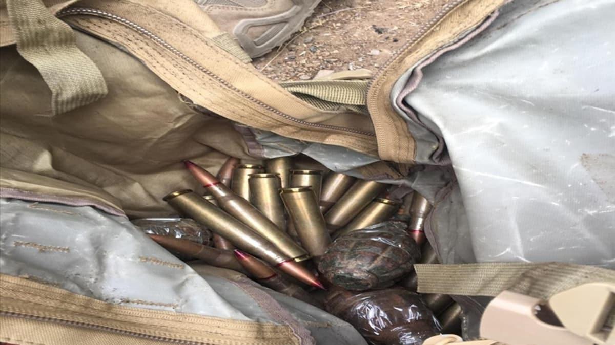 MSB: Pençe Kaplan Operasyonu'nda ele geçirilen malzemeler imha edildi