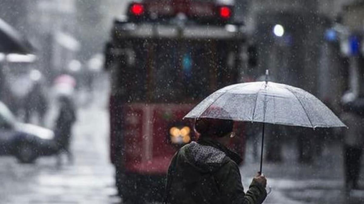 Meteorolojiden İstanbul için 'sarı alarm' uyarısı... Kuvvetli sağanak geliyor