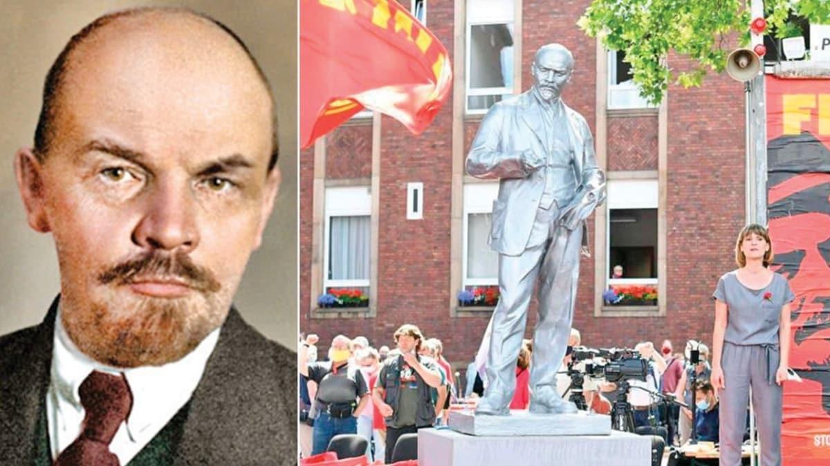 Almanya'da Vladimir Lenin heykeli dikildi