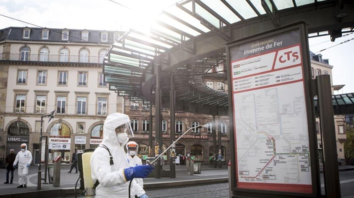 Fransa'da koronavirüsten ölenlerin sayısı 29 bin 663'e yükseldi