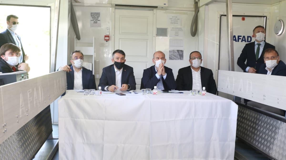 Bursa Kestel'de sel felaketi! Başkan Erdoğan selzedelerle görüştü