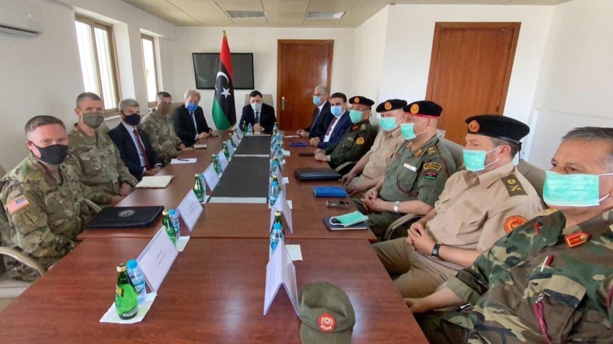 Libya'da kritik toplantı: AFRICOM komutanı da katıldı!