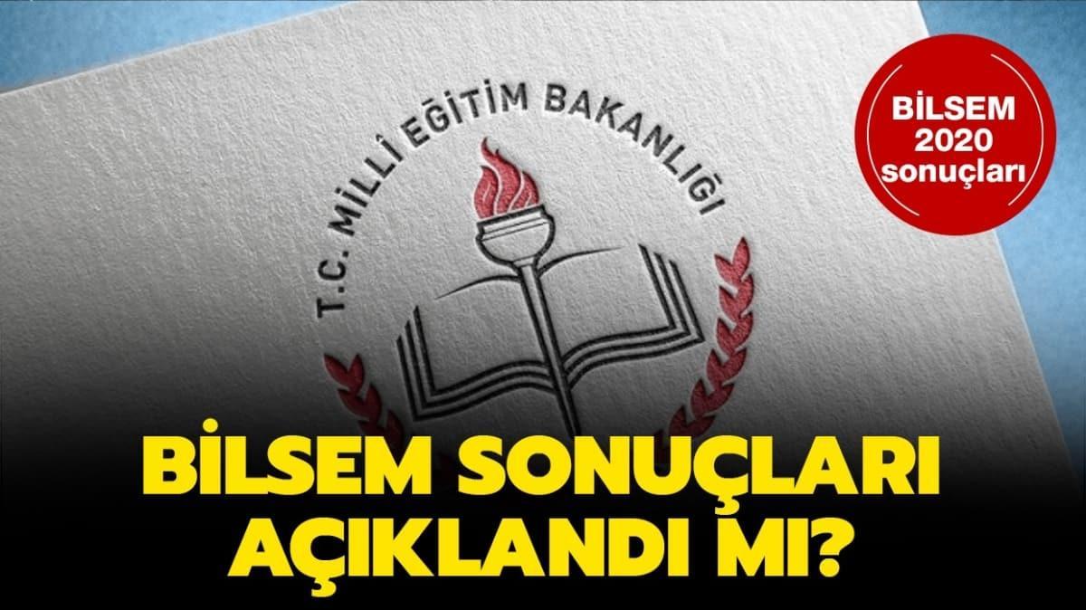 """BİLSEM sınav sonuç tarihi belli oldu mu"""""""
