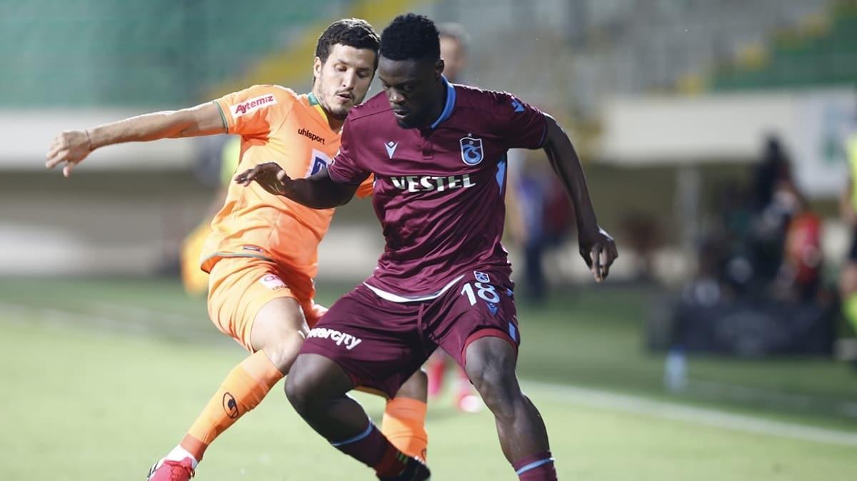 Aytemiz Alanyaspor-Trabzonspor maçından notlar