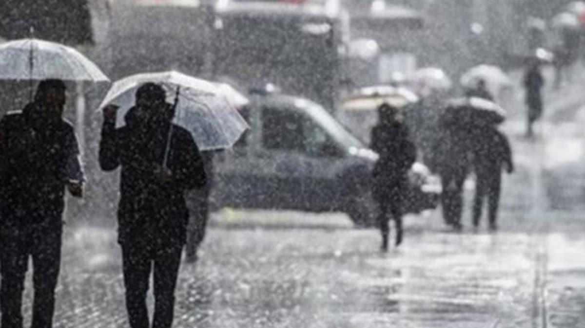 Meteoroloji uyardı: Sağanak yağış etkili olacak