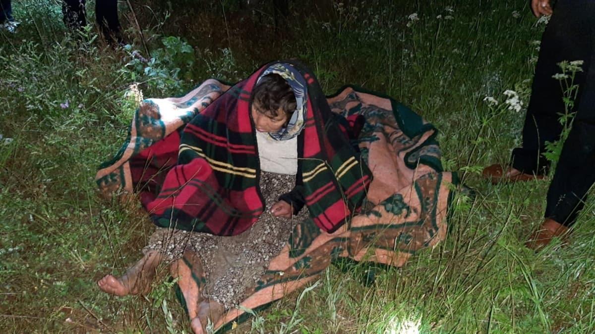 Alzaymır hastası kadın ormanlık alanda bulundu