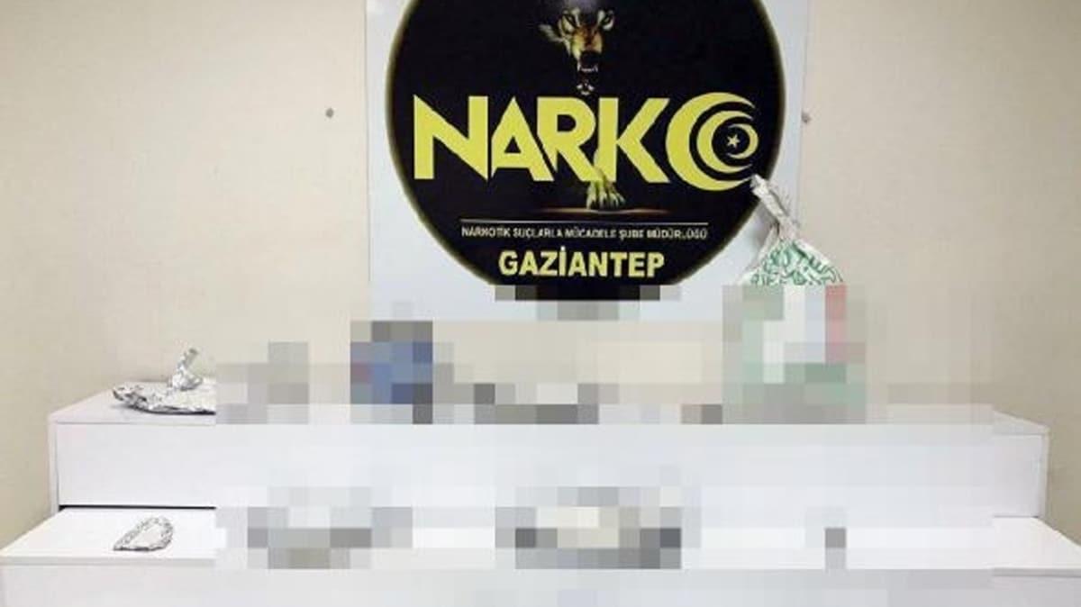 Gaziantep'te uyuşturucu operasyonu: 25 gözaltı