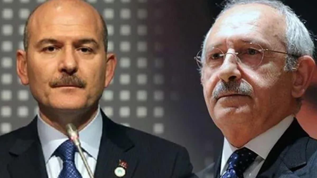 Bakan Soylu'dan Kılıçdaroğlu'nun 'Saygı Öztürk'ten özür dile' çağrısına yanıt