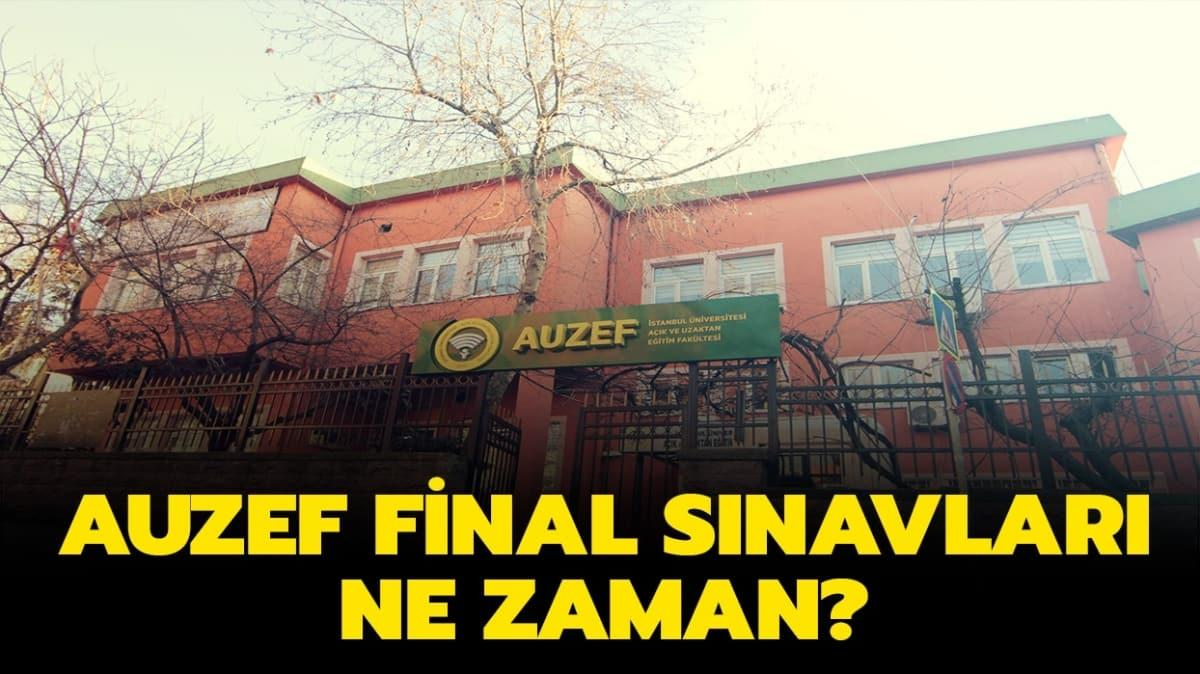 """AUZEF final sınavları online mı yapılacak"""""""