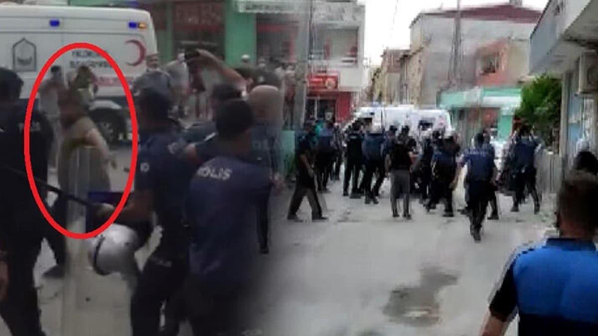 Bursa'da gergin anlar: Polis ve zabıtalara saldırdılar