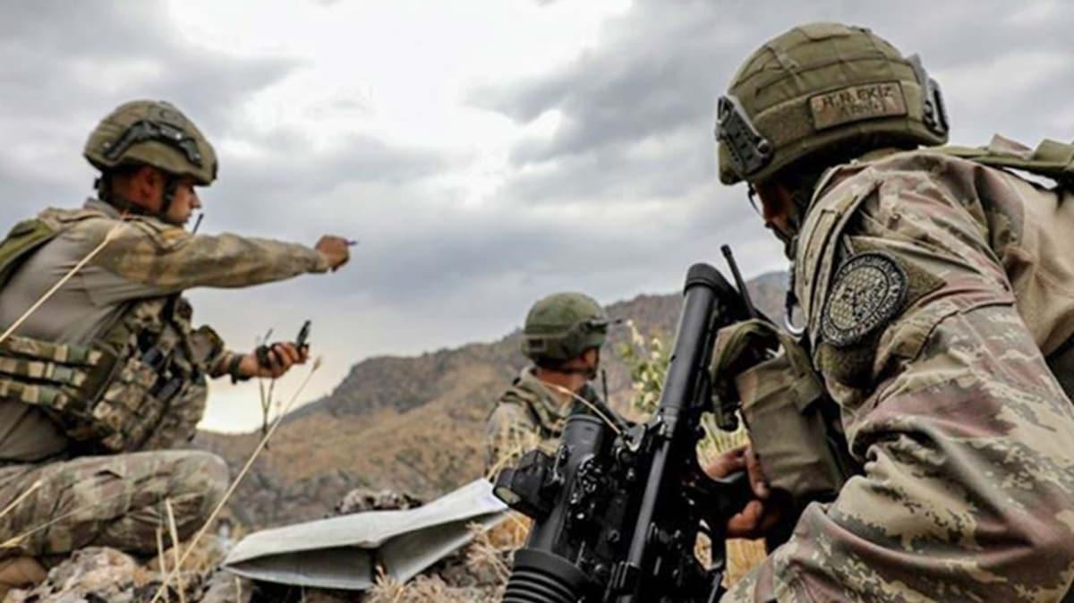 İçişleri Bakanlığı: Etkisiz hale getirilen teröristlerin gri listede yer aldığı tespit edilmiştir
