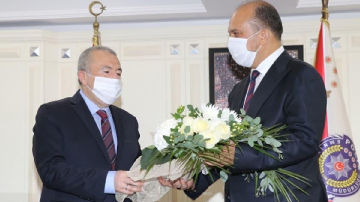 İstanbul Emniyet Müdürü Aktaş göreve başladı