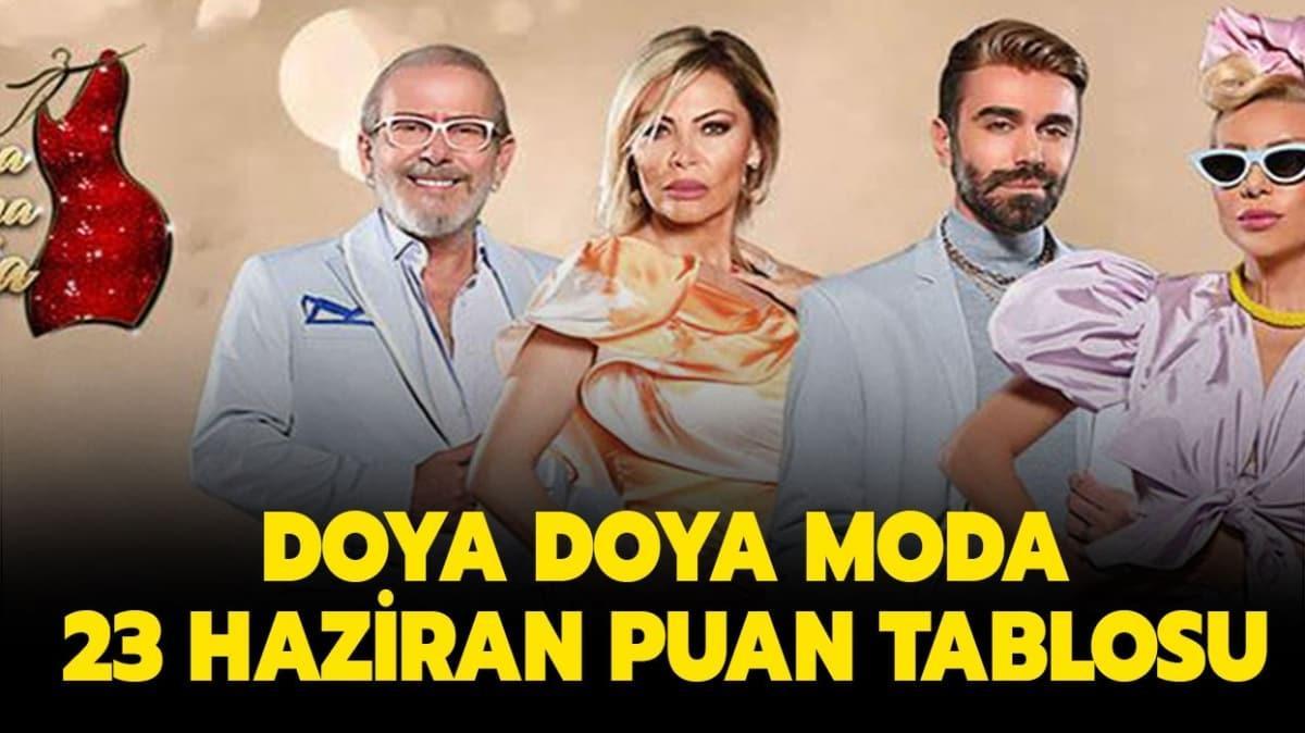 """Doya Doya Moda 23 Haziran gün birincisi kim oldu"""""""