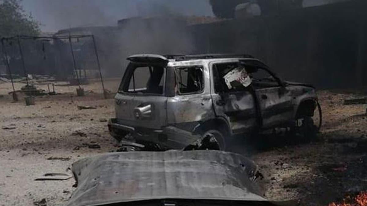 MSB: Tel Halaf'ta bir iş yerine bombalı saldırı düzenleyen teröristler en az 5 kişiyi katletti