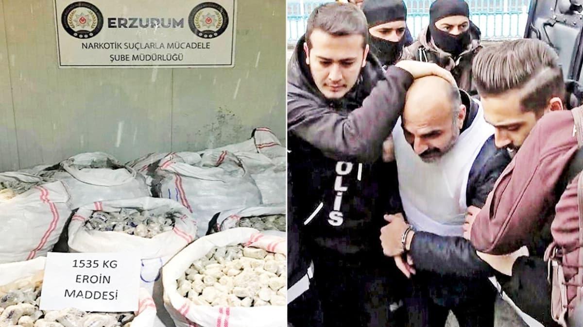 'En büyük eroin operasyonu' davasında karar! Zehir baronuna 140 yıl