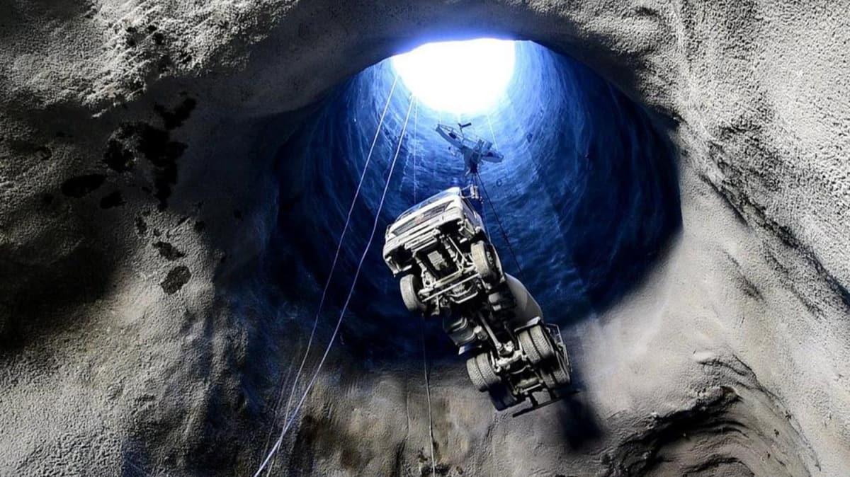 Dünyanın 3. en yüksek barajı olacak Yusufeli Baraj inşaatının gövde yükseliğinde son 65 metre
