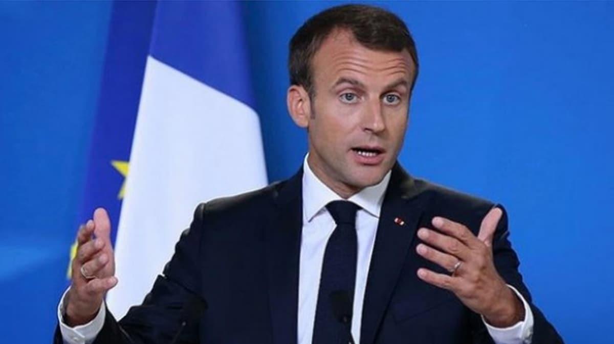 Macron'dan küstah tehdit: Türkiye, Libya'da tehlikeli oyun oynuyor