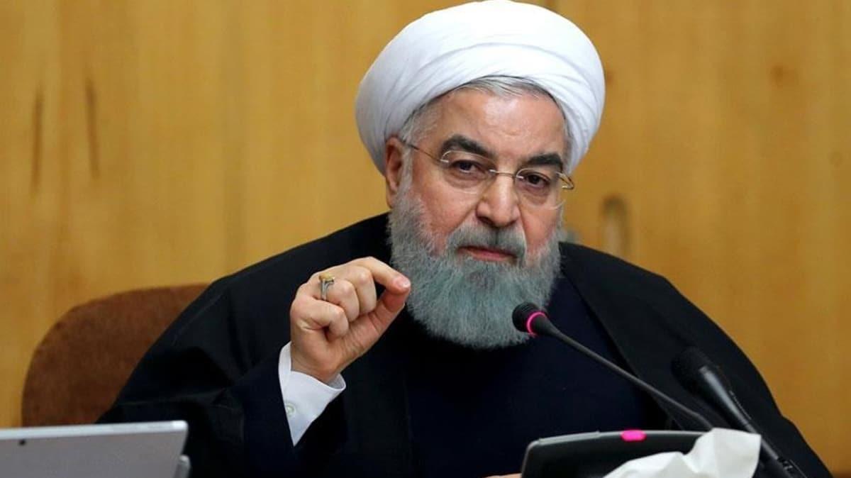 İran Hürmüz'e alternatif buldu! Ruhani: 'Artık göbekten bağlı değiliz'