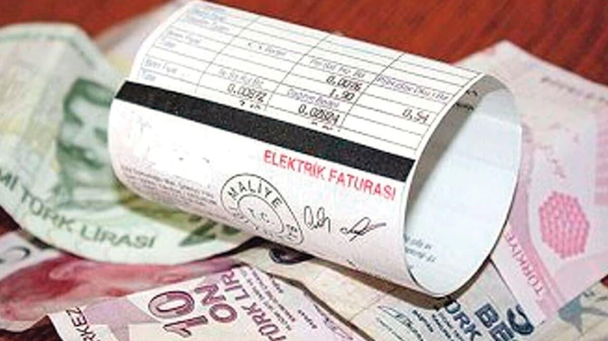 Elektrik borçlarına 3 taksit imkanı