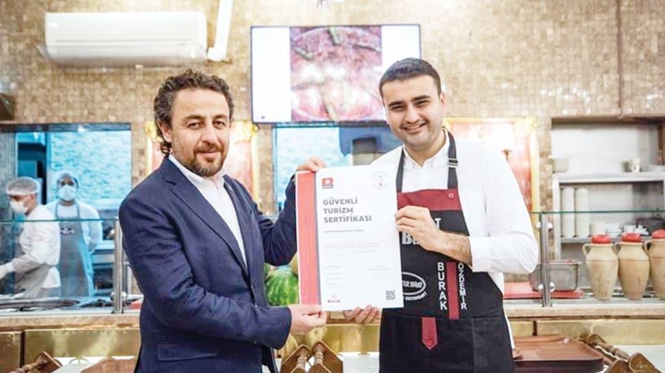 2 bin restorandan sertifika başvurusu