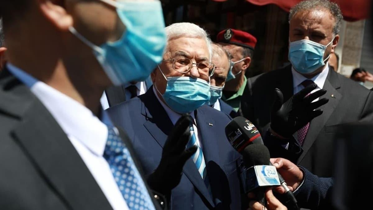 Filistin Devlet Başkanı: Filistin topraklarının bir karışının dahi ilhakını kabul etmeyiz