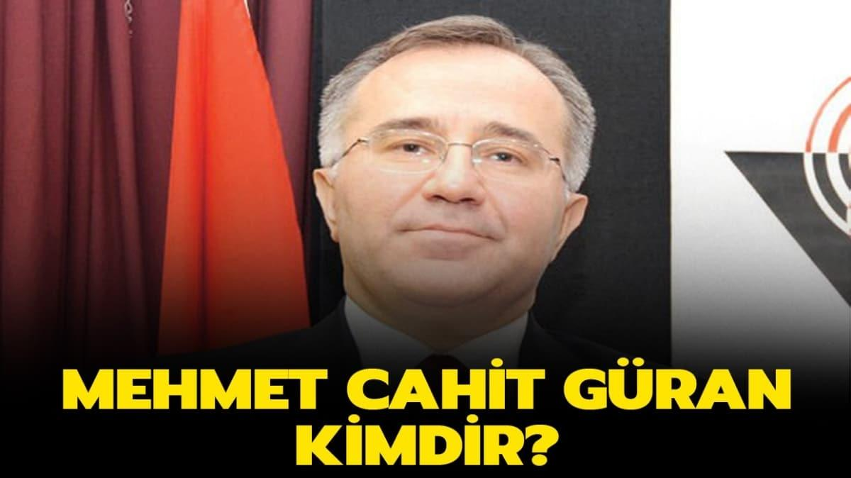 """Prof. Dr. Mehmet Cahit Güran kimdir"""" Hacettepe Üniversitesi Rektörü Mehmet Cahit Güran aslen nereli"""""""