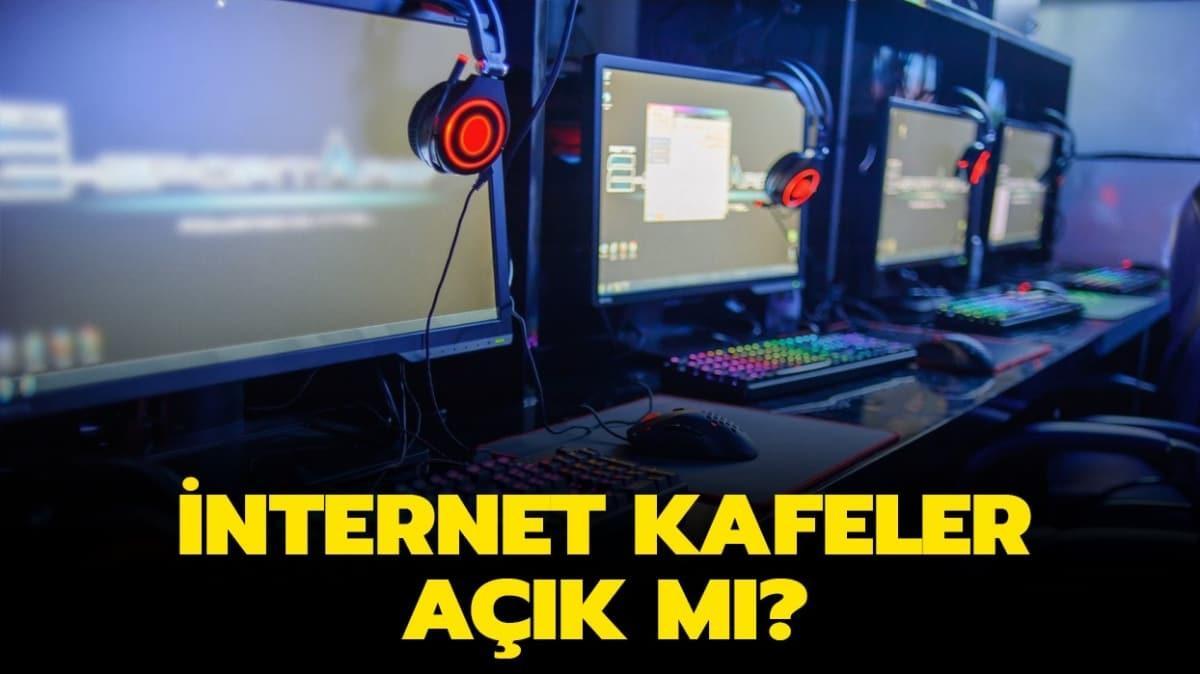 """İnternet kafeler açılacak mı"""""""