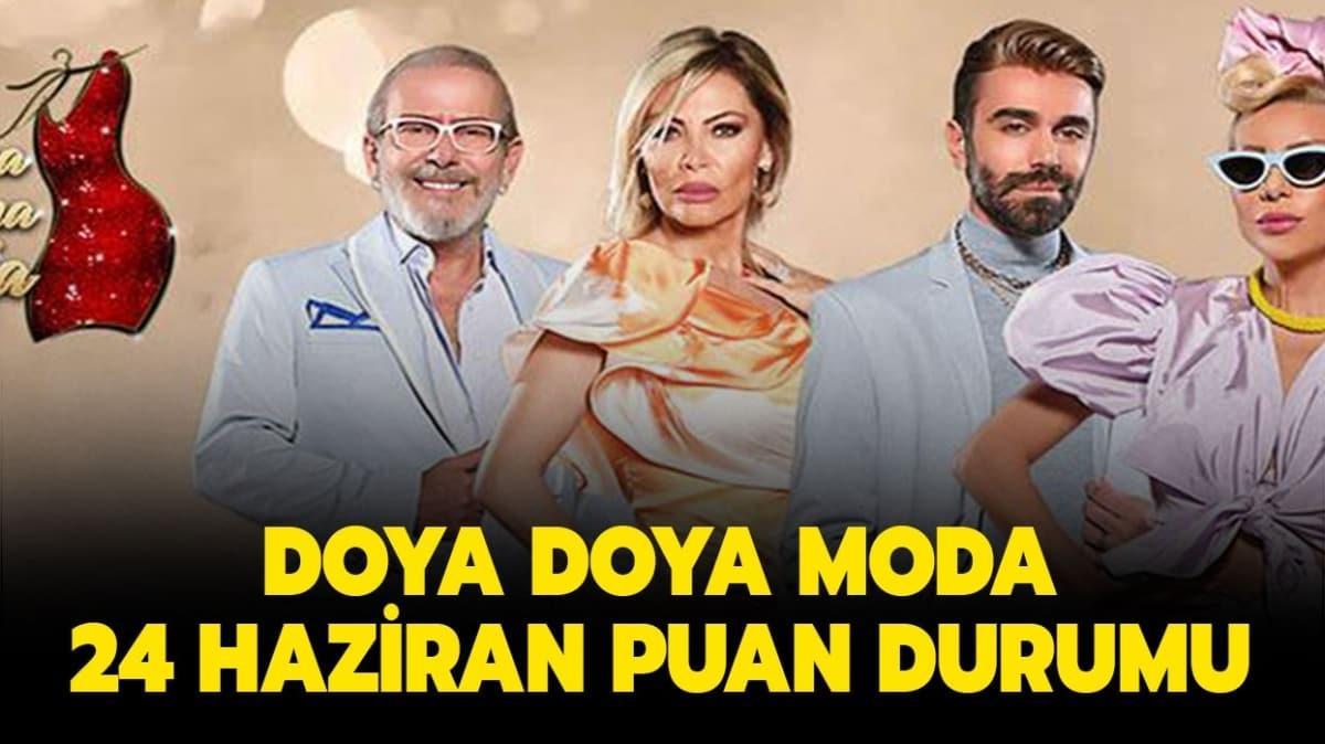 "Doya Doya Moda 24 Haziran 2020 puan durumu! Doya Doya Moda 24 Haziran gün birincisi kim oldu"""