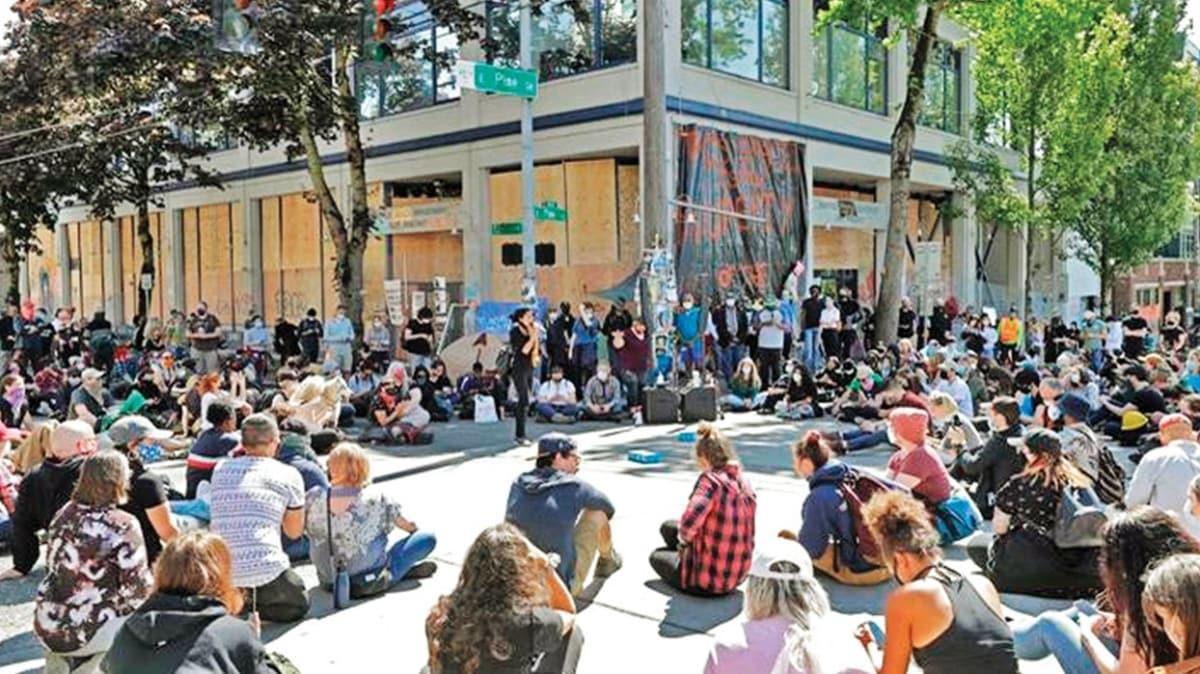 Seattle'daki 'Özerk Bölge' dağıtılacak