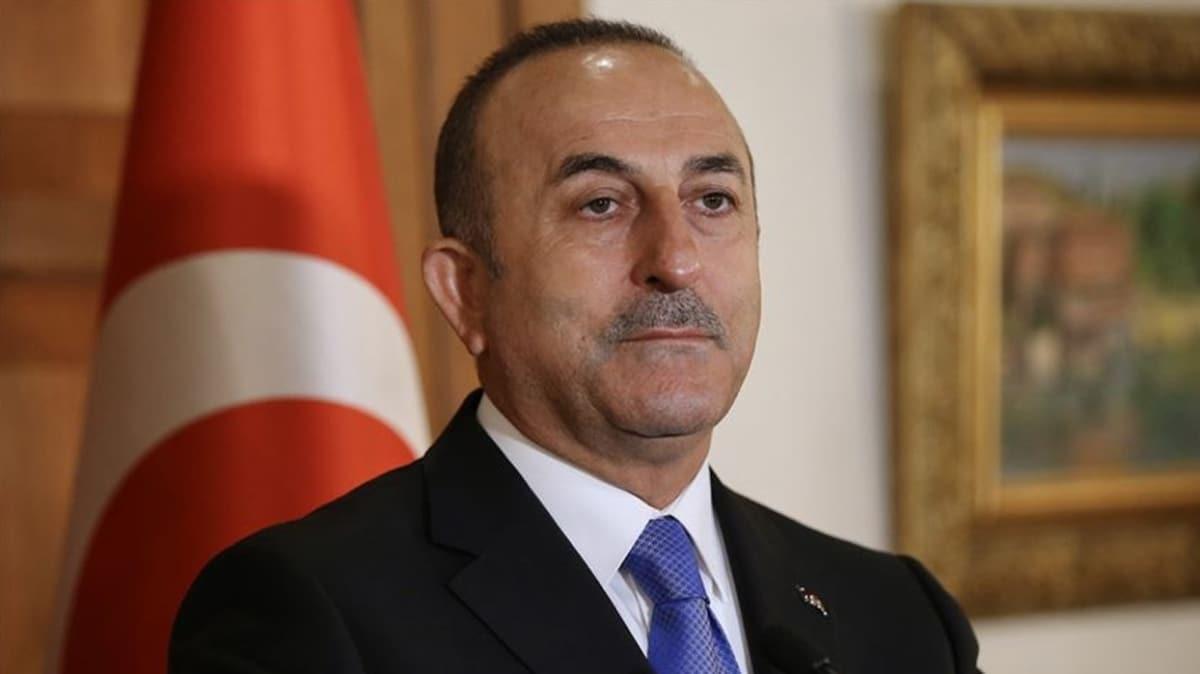 Dışişleri Bakanı Çavuşoğlu'ndan Fransa Cumhurbaşkanı Macron'a 'Libya' tepkisi